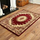 SMALL NEW TRADITIONAL RED CLASSIC ELEGANT RUGS 80 X150 CM CLEARANCE RUG MAT SALE