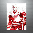 Steve Yzerman Detroit Red Wings Poster FREE US SHIPPING $49.99 USD on eBay