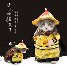 Pet Dog Cat Clothes Emperor Dragon Robe Cosplay Outfit Christmas Fancy Costume