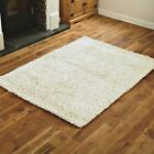 4CM THICK PILE FEATHER STYLE SMALL 80x150cm CREAM HIGH QUALITY MODERN RUG SALE