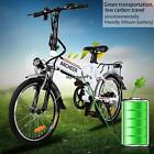 "19'' 26"" 250W 36V Folding Electric Mountain Bike Off-Road Bicycle Ebike Lithium"