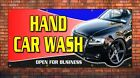 PVC BANNERS - PRINTED OUTDOOR SIGN CAR WASH BANNERS CARWASH NEW