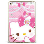 Cute Hello kitty Lovely Soft Silicone TPU Case Cover For Samsung iPad A08D68