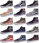 Vans Sk8 Hi Suede Canvas Skateboard Shoes Men/Women Choose Colors & Sizes