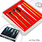 7/11 pcs Harry Potter Hermione Dumbledore Magic Wand Box Gift Collect Cosplay