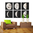 Moon Phases Prints Set Minimalist Wall Art  Posters Unframed Modern Home Decor