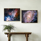 Night Sky Star Print Canvas Outer Space Painting Wall Art Decor Unframed Gifts
