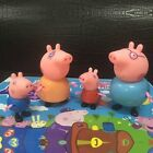 Peppa Pig Family&Friends Figure Car Slide with Figures 2017 Toys Kids Xmas Gift
