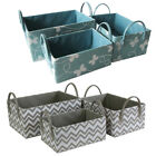 JVL Set of 3 Zigzag Butterfly Design Inspirations Paper Loom Storage Boxes
