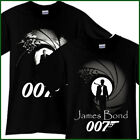 JAMES BOND 007 Espionage Spy Action Movie Black T-Shirt TShirt Tee Size S-3XL $22.95 CAD on eBay