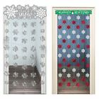 Snow Flake Christmas Day Door Curtain Hanging Entrance Frozen Grotto Decoration
