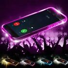 New Fashion Shockproof TPU Incoming LED Flashing Case Cover For Apple iPhone AU