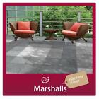 GARDEN PATIO PAVING 450X450X32MM SMOOTH POLISHED MIN ORDER 5PKS