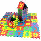 36 pcs Kids Alphanumeric Educational Puzzle Blocks Infant Child Toy Gift TN