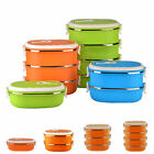 Thermal Insulated Bento Stainless Steel Food Container Meal Box Food Storage New