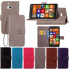 Leather Flip Case Cover Card Holder Wallet For Nokia Lumia 6/5/3/N930/N925/N640