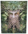 Oak King Canvas Wall Plaque Designed By Anne Stokes  (Y98)