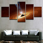 Black Hole Dizzying Universe Painting Poster Modern Canvas Wall Art Home Decor