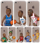 Coque Basketball NBA Star Lakers Hard Case All Apple Iphone 4 5 6 7 8 10 - X
