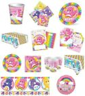 Care Bears Birthday Party Theme Tableware Decoration Favours Plates Cups Napkins