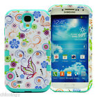 Tough Hybrid Shockproof Protective Hard Case Cover Skin Samsung Galaxy S4 i9500