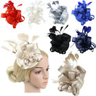Women's Sinamay Fascinator Occasion Wedding hat Party Hat Classy Fashion