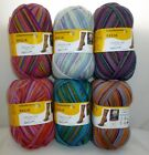 Regia Design LIne by Kaffe Fassett ~ 4 Ply Sock yarn x 100g ~ + Free Pattern