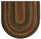 Joseph's Coat Colonial Durable Soft Polypropylene Braided Rug Country Decor 778