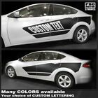 Dodge Dart 2013-2018 Side Accent Stripes Blackout Decals (Choose Color) $84.7 USD on eBay