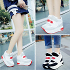 2017 NEW FASHION Women Platform Wedge Sports Shoes Camouflage Height Increased *
