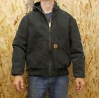 Men's Carhartt J130 Quilted-Flannel-Lined Sandstone Active Jac Coat