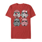 Men's Disney Star Wars Stormtrooper Candy Ugly Sweater Style Christmas T-Shirt $26.7 USD on eBay
