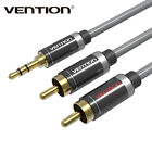 3.5mm Jack Plug to 2 RCA Stereo Jack Headphone Extension Cable Aux Audio Lead AB