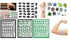 Tortoise Collection Nail Art - Turtle Nail Art - Stickers