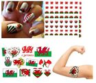 Wales Collection Nail Art - Temporary Tattoos Tattoo