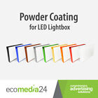 POWDER COATING For Outdoor Two Sided Projecting LED BLANK Light Box / Shop Sign
