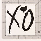 XO The Weeknd Sticker Decal