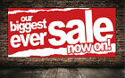 SALE NOW ON banner for outdoor use PVC VINYL BANNERS Advertising/ Shop Signs