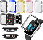 38/42mm Full Body Cover Metal Case + Screen Protector For Apple Watch 3 Series