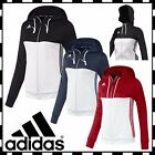 Adidas T16  Hoodies Womens Climalite Sports Full Zip Hooded Ladies Jacket