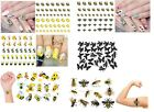 Bee - Wasp Collection Nail Art - Stickers - Temporary Tattoo