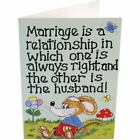 Smiley Cards Funny Birthday Card Pagan Witch Friends Best Witch Broom Marriage