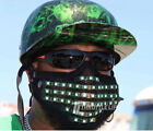BIONIC LED FACE MASK - MOTORCYCLE FACE PROTECTION - ADJUSTABLE MULTI COLOR LED