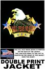 I WILL FEAR NO EVIL VETERAN AMERICAN PRIDE EAGLE FLAG PATRIOTIC USA JACKET WS523