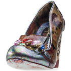Irregular Choice Ellie Grant Womens Brown Synthetic Casual Shoes Slip-on