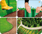 Quantum Garden Flexible Lawn Grass Edging Border Driveway Separating Roll  <br/> Available in 3 Height and 3 Colours