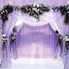 33FT/10M Wedding Backdrop Gauze Curtain Wedding Party Venus Decor FO