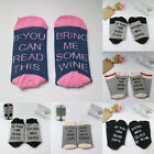 USA If You can read this Bring Me a Beer A Glass Of Wine Women Men Socks Unisex
