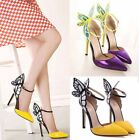 Chic Womens Butterfly Wings Stiletto High Heels Sandal Wedding Party Shoes Pumps