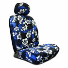 Seat Covers Unlimited Hawaiian Hibiscus Auto Seat Cover for Low-Back Seats